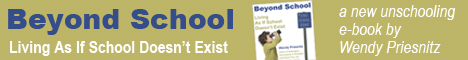 Beyond School unschooling book