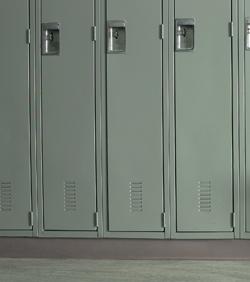 ugly lockers in school