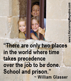 quote about school and prison
