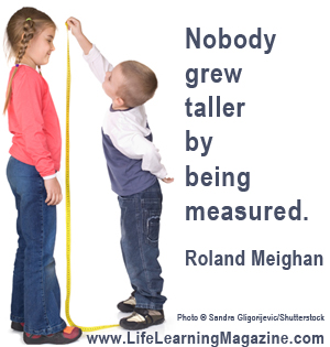 Roland Meighan quote about unschooling
