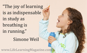 the joy of learning by Simone Weil